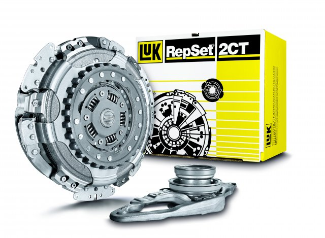 14h - LuK RepSet 2CT - Remplacement Double Embrayage LuK VW Veranstaltung